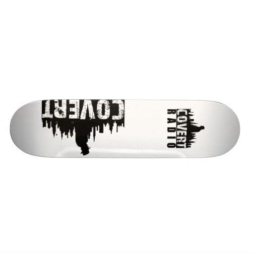 Covert Radio Skate Deck