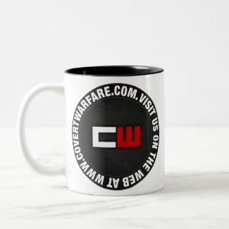 Covert Warfare Logo Mug