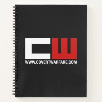 Covert Warfare Logo Spiral Notebook