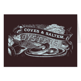 Coves & Saltem Oysters Card