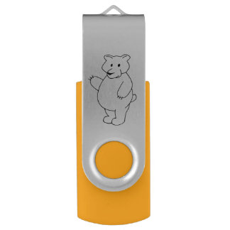 Covey Logic Bear Flash Drive