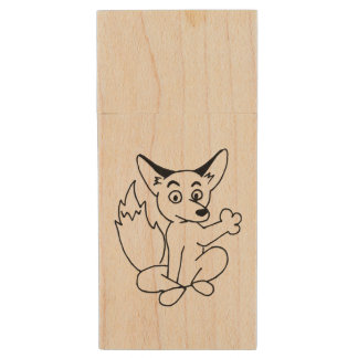 Covey Logic Fox Flash Drive