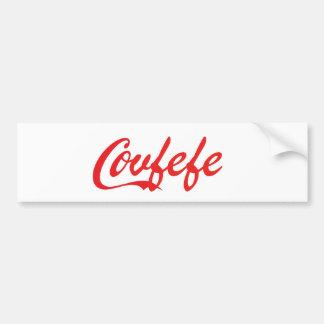 'Covfefe' bumper sticker. Bumper Sticker
