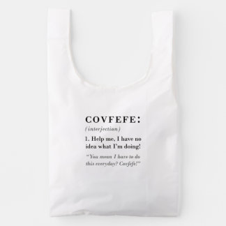 Covfefe Definition Reusable Bag