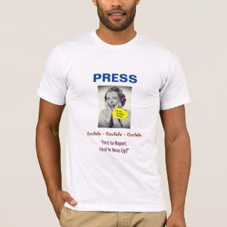 Covfefe Press #3 Design: T-Shirt (White)