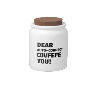 Covfefe Tshirts Candy Dishes