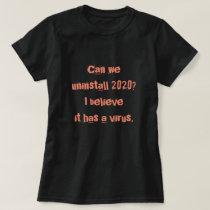 Covid19 Tshirt - Viral 2020