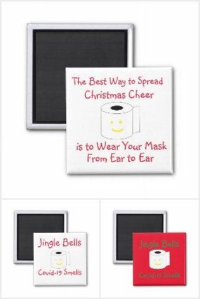Covid-19 Christmas Magnets
