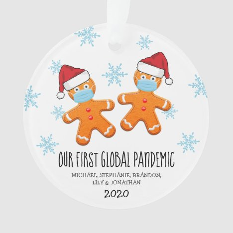 Covid Christmas 2020 Commemorate Ornament