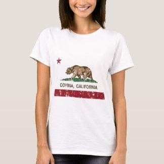 covina de la bandera de California apenado Playera