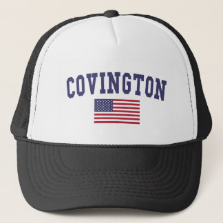 Covington US Flag Trucker Hat
