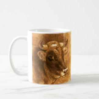 Bull Horn Coffee Mug