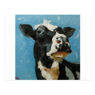 Cow#191 Tarjeta Postal