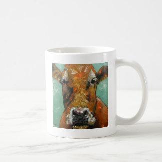 Cow#211 Taza Básica Blanca