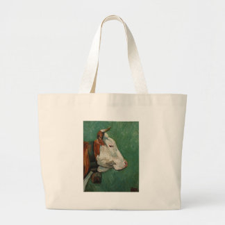 cow#31-20x16 large tote bag