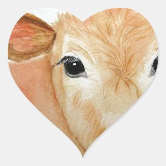cow 4.jpg heart sticker