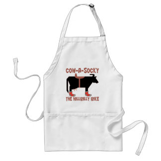 Cow A Socky Adult Apron
