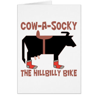 Cow A Socky Card