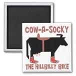 Cow A Socky Fridge Magnets