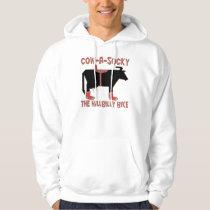 Cow A Socky Hoodie