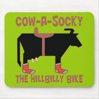 Cow A Socky Mouse Pad