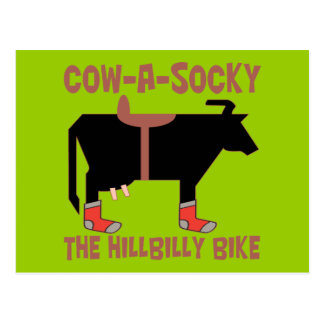 Cow A Socky Post Cards