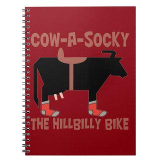 Cow A Socky The Hillbilly Bike Notebook