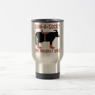 Cow A Socky Travel Mug