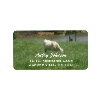 Cow Address Labels