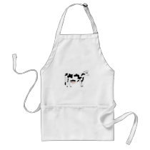 Cow Adult Apron