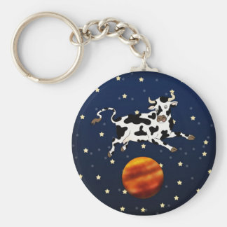 Cow Aims Higher, keychain