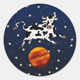 Cow Aims Higher, sticker