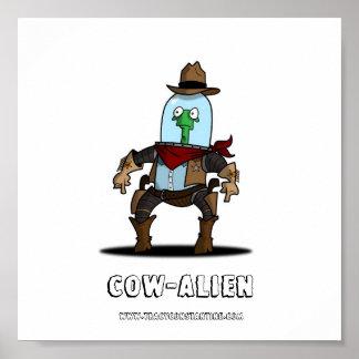 COW-ALIEN IMPRESIONES