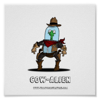 COW-ALIEN POSTER