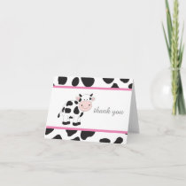 Cow All Occasions Thank You Note Cards