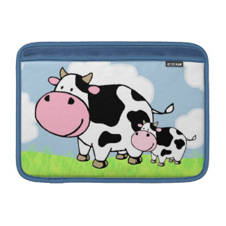Cow and Baby MacBook Air Sleeve