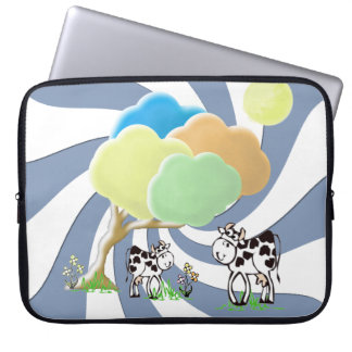 Cow and Calf 15 inch Laptop Sleeve