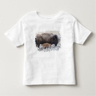 Cow and Calf Bison, Yellowstone 2 Toddler T-shirt