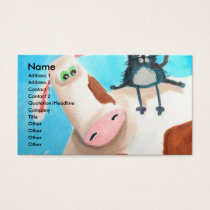 COW AND CAT BUSINESS CARD