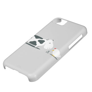 Cow and Chicken Cover For iPhone 5C