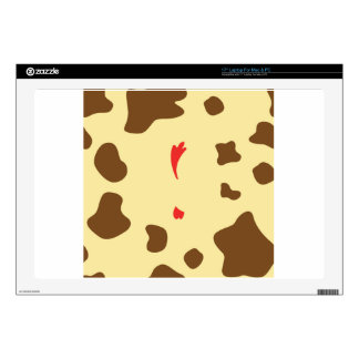 Cow and Chicken Laptop Skin