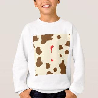 Cow and Chicken Sweatshirt