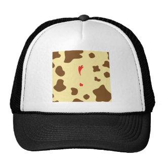 Cow and Chicken Trucker Hat