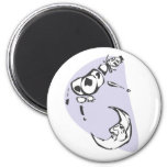 Cow and Moon Magnets