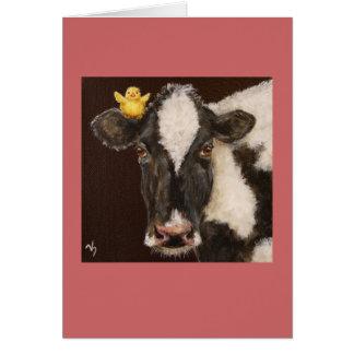 cow and peep card