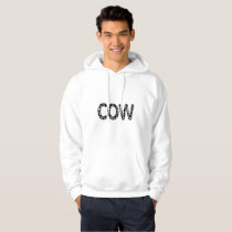 Cow Animal farmer funny gift Hoodie