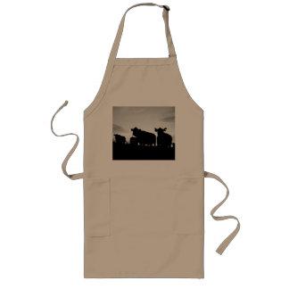 cow long apron