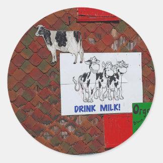 Cow Art #3 Sticker