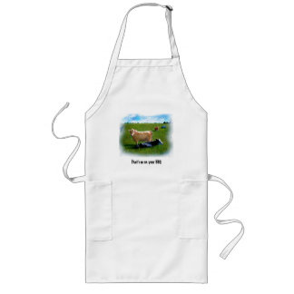 COW ART/ BBQ APRON
