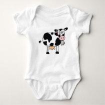 Cow-Baby Baby Bodysuit
